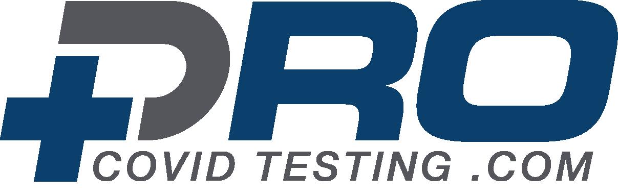 Pro covid testing logo