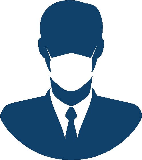 New pro covid testing concierge icon
